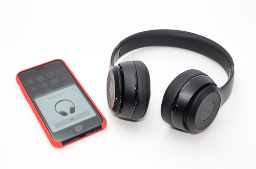 Beats Solo3 WirelessとiPhoneを接続する