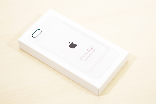 iPhone 6s Smart Battery Case パッケージ