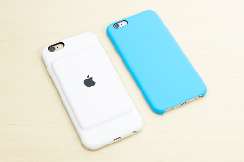 iPhone 6s Smart Battery Case シリコーンケース
