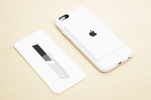 iPhone 6s Smart Battery Case 同梱物