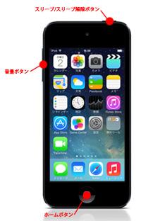 電源 オフ ipod