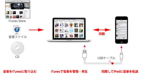 に を 方法 itunes iphone 入れる 音楽 iTunesからiPhoneに音楽をコピー(同期)する方法/手順