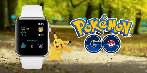 Pokémon GO Apple Watch対応