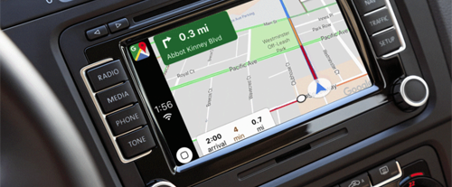 Google Map CarPlay