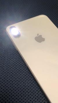 iPhoneのLEDライトが消える